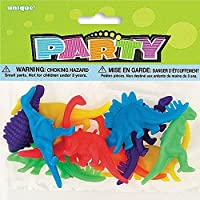 Unique Plastic Dinosaur Figure Party Favors, Multicolor [並行輸入品]