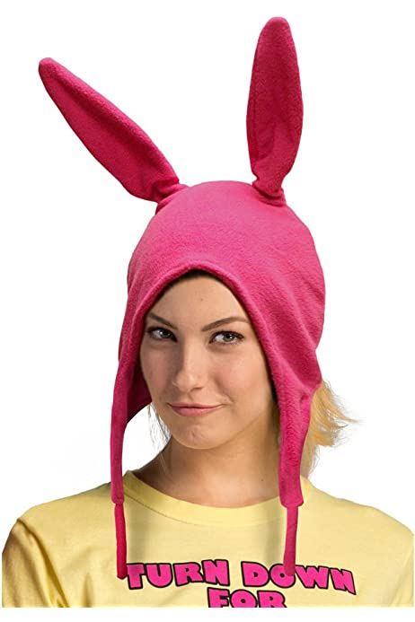 Gaonana Bobs Louise Rabbit Ear Hat Burgers Beanie Cosplay Costume Hat Bunny Ears