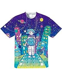 Space girl-Tシャツ【フルグラフィックTシャツ】