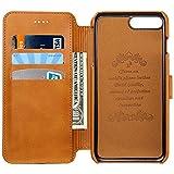 HARRMSアイフォン用財布 iPhone6/6S/7 カード入れ 耐摩擦