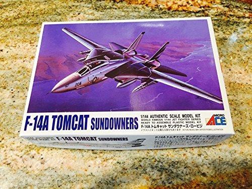 1/144 ジェットファイターシリーズシリーズ F14A(サンダウナーズ)