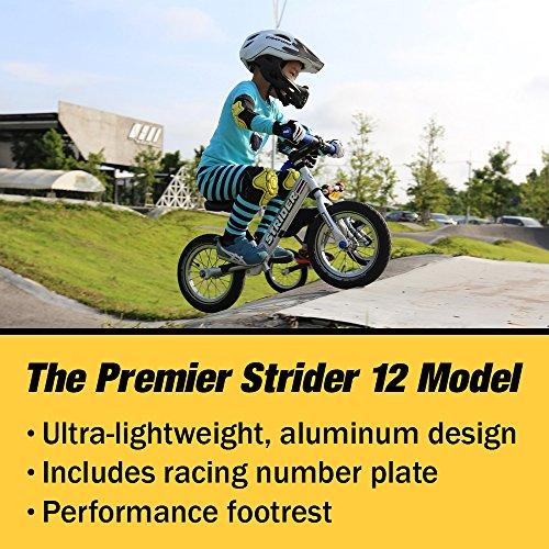STRIDER(ストライダー) 12 Pro (プロ) バランスバイク18ヶ月から5歳に最適 アルミ軽量モデル シルバー [並行輸入品]