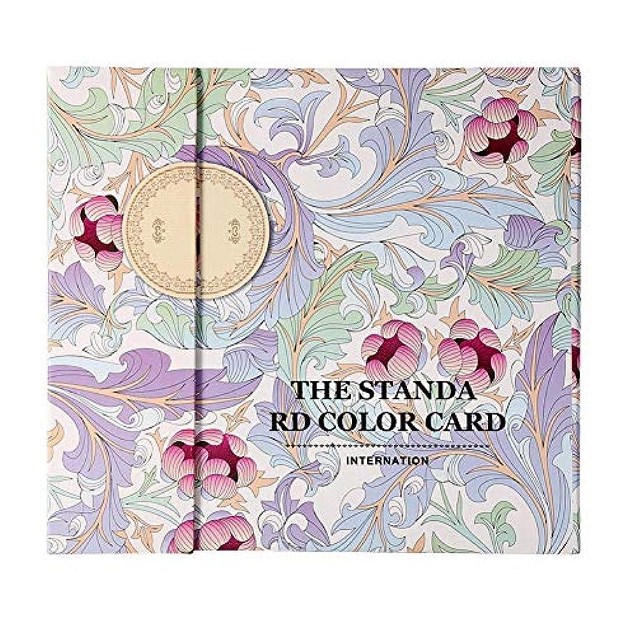 作り上げる小康小屋ネイルカラーディスプレイチャートブックマニキュアジェル(Stripes Cover)