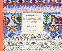 Journey in Color: Scandinavian Designs: Coloring Book