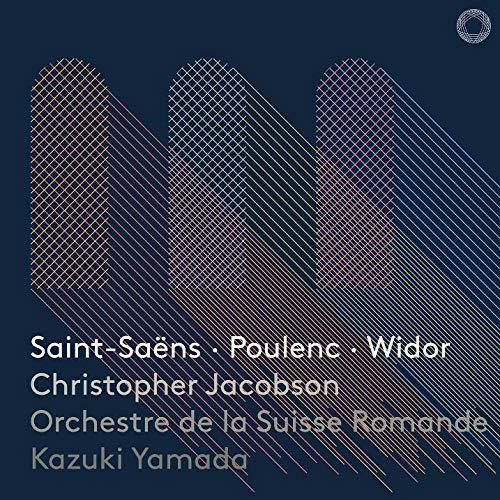 サン=サーンス : 交響曲 第3番 「オルガン付き」 他 (Saint-Saens | Poulenc | Widor / Christopher Jacobson | Orchestre de la Suisse Romande | Kazuki Yamada) [SACD Hybrid ] [Import] [日本語帯・解説付]