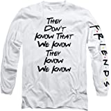Popfunk Friends They Don't Know Adult Longsleeve T Shirt