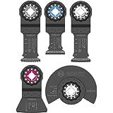 Bosch OSL005C Five-Piece Starlock Accessory Set with Case