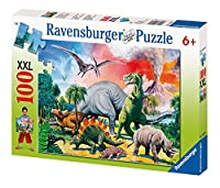 Among the Dinosaurs Puzzle - 100 Pieces by Ravensburger [並行輸入品]