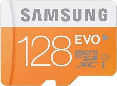 Samsung microSDXCカード 128GB SAMSUNG EVO Class10 UHS-I対応 MB-MP128D/FFP