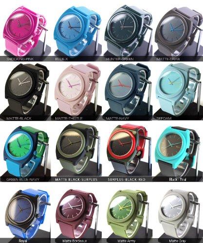 NIXON ニクソン 腕時計 TIME TELLER/33色展開 FREE MATTE-NAVY