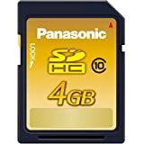 パナソニック 4GB SDHCメモリーカード CLASS10 RP-SDWA04GJK