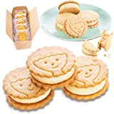【Patico】スイーツ ギフト クッキー チーズケーキサンド(プレーン) 5個入り お菓子 クッキーサンド チーズケーキ 内祝い お返し 手土産 お取り寄せ