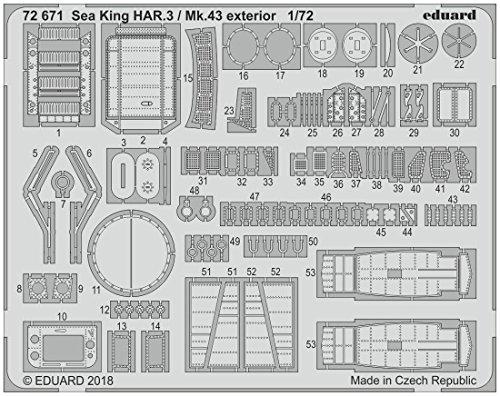エデュアルド 1/72 ウエストランド シーキング HAR3...