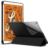 ESR iPad Mini 5 2019 ケース 軽量 薄型 PU レザー スマート カバー 耐衝撃 傷防止 ソフト TPU 背面 ケース 三つ折り スタンド オートスリープ ウェイクアップ 機能 iPad Mini5(第五世代) 専用 (ブラック)