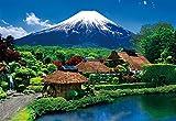 300ピース ジグソーパズル 富士望む忍野村(26×38cm)