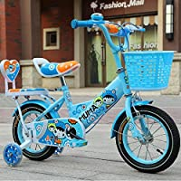Brisk-子供時代 バスケット付きガールズバイク、トレーニングホイール付き12,14,16,18インチのガールズバイク、子供用のギフト、女の子の自転車 -アウトドアスポーツ