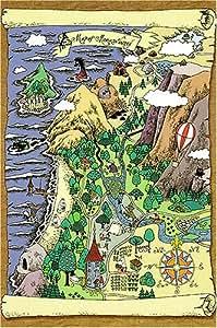 1000ピース ムーミン谷地図・2 AS-1000-194