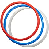 SiCheer Sealing Ring Silicone Gasket Accessories Compatible with Ninja Foodi 6.5 Quart and 8 Quart Rubber Sealer Replacement