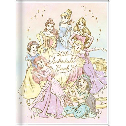 サンスター文具 ディズニー 手帳 2018年 10月始まり ウィークリー A6 プリンセス S2940892
