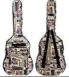 Blumen-Beet ギター用 キャリーバッグ 英文字 デザイン 星条旗
