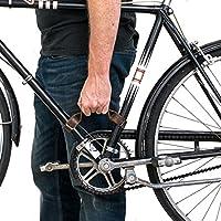 耐久性厚手レザー自転車フレームハンドル(自転車ハンドルHide & Drinkによるハンドメイド: : Bourbonブラウン