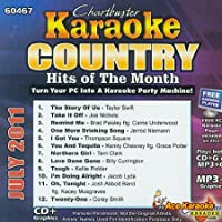 Karaoke: Country Hits of Month July 2011
