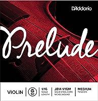 D'Addario ダダリオ バイオリン用 バラ弦 Prelude G線 J814 1/16M Medium Tension 【国内正規品】