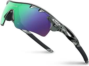 RIVBOS(リバッズ)スポーツサングラス 偏光レンズ ロードバイク 自転車用 uv400 紫外線カット メンズ レディース ユニセックス適用 サングラス