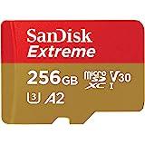 microSDXC 256GB SanDisk サンディスク Extreme UHS-1 U3 V30 4K Ultra HD アプリ最適化 A2対応 SDアダプター付 [並行輸入品]