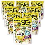洗濯洗剤 ジェルボール3D 柔軟剤入り ボールド 爽やかナチュラルフラワー 詰め替え 38個(約2.5倍)x8袋