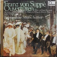 Franz Von Suppe Overtures - Franz Von Suppe, Detroit Symphony Orchestra, Paul Paray LP