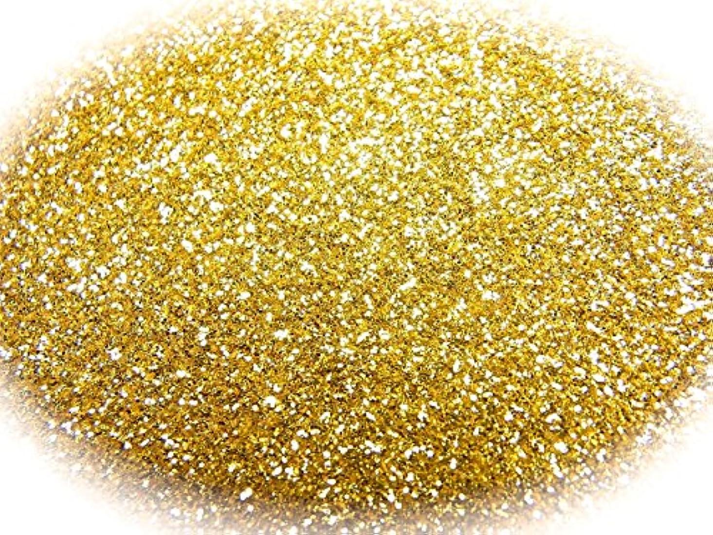 六熱動力学グリッターラメパウダー 選べる12色 0.5g 瓶入り (ゴールド)