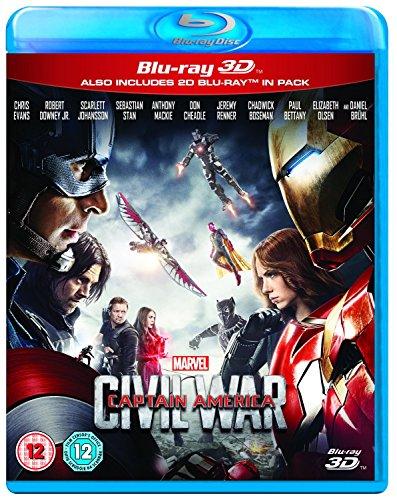 Captain America: Civil War [Blu-ray 3D]