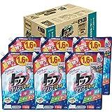 【ケース販売 大容量】トップ クリアリキッド 洗濯洗剤 液体 詰め替え 1160g×6個