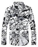 CEEN ハワイアン 長袖シャツ コンビ安い カジュアル 襟付 総柄シャツ 注目された サマー 男性用シャツ キレイめ系 花柄 プリント 長袖