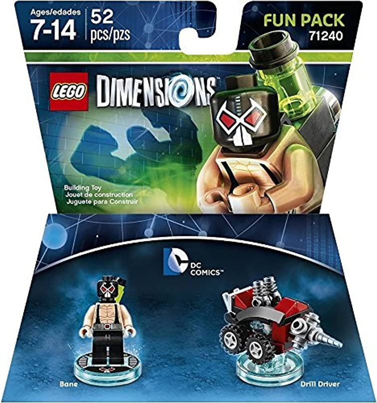 親盟主太陽DC Bane Fun Pack - LEGO Dimensions by Warner Home Video - Games [並行輸入品]