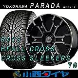 20インチ 4本セット タイヤ&ホイール ヨコハマ(YOKOHAMA) PARADA Spec-X 245/45R20 レイズ