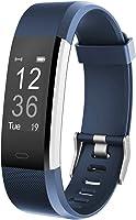 Fitness Tracker HR,Teslasz T115Plus HR IP67 Waterproof Fitness Tracker with Heart Rate Monitor Auto-Sleep Monitor 14...