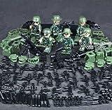 陸軍、海兵隊、特殊部隊武器防具付き6体+警察フィグセット 化粧箱入り