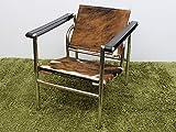 【一点物】 Le Corbusier (ル・コルビジェ) LC1 Sling Chair (スリングチェアー) / カウスキン(H)