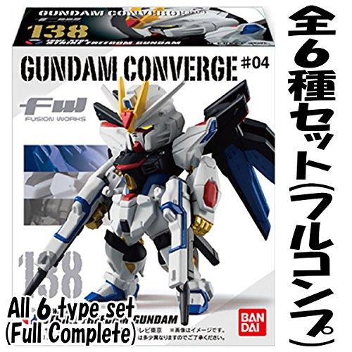 FW GUNDAM CONVERGE #4 (ガンダム コンバージ #4) [全6種セット(フルコンプ)]