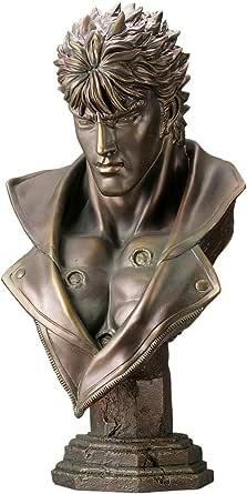 メガソフビアドバンス 北斗の拳 ケンシロウ胸像 ブロンズ調Ver. 約700mm PVC製 塗装済み完成品フィギュア MSA-012
