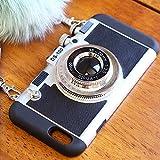 (ミリアンデニ)mili an deni カメラ型 iphoneケース iPhone6用 ブラック
