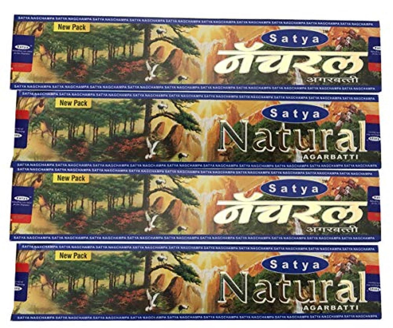 コーヒー大学生何か4ボックスの自然Satya Incense Sticks
