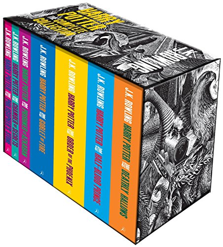 Harry Potter Boxed Set: The Complete Collection (Harry Potter Adult Cover)