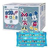 ミッキー & フレンズ 純水99% 手・くちふき 60枚入×20個 (1200枚) 日本製 パラベンフリー