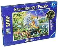 Ravensburger Magical Encounter Jigsaw Puzzle (200 Piece) [並行輸入品]