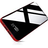 26800mAh モバイルバッテリー 大容量 【PSE認証済】急速携帯充電器 2USB出力ポート&3入力ポート LCD残…