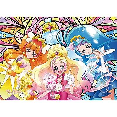 208ピース ジグソーパズル Go!プリンセスプリキュア 開け、夢への扉! アートクリスタルジグソー(18.2x25.7cm)