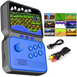 GO-VOLMON Handheld Game Console, 900 in 1 Console with Joystick,3 Inch Mini Game Player with Built-in Games, 16 Bit Gameboy f